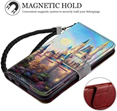 iPhone 8 (2017) or iPhone 7 (2016) (4.7 Version) Wallet Case Cinderellas Castle Fantasy Hd New Painting