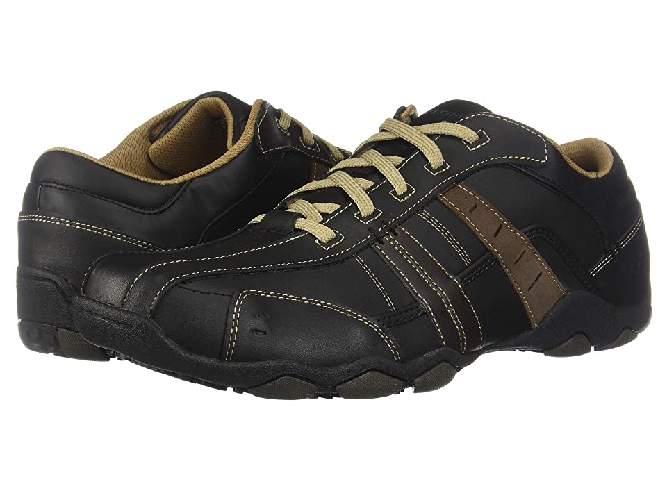 SKECHERS Diameter-Vassell (Black/Tan) Men