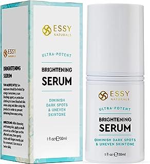 EssyNaturals Dark Spot Corrector Remover for Face, Treating Melasma Contains 4-Butylresorcinol, Kojic Acid, Lactic Acid and Salicylic Acid