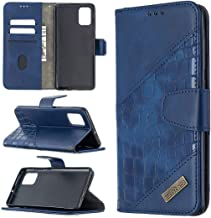 Miagon Samsung Galaxy A41 Phone Case,Shockproof Crocodile Splicing PU Leather Flip Wallet Cases with Magnetic Kickstand Mo...