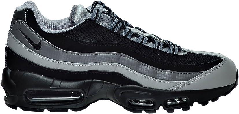 Amazon.com | Nike Air Max 95 Essential Men's Shoes Black/Wolf Grey ...