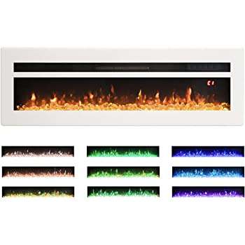 Amazon Com Maxhonor 40 Inches Electric Fireplace Insert Wall