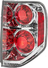 Taillight Tail Lamp Passenger Replacement for 06-08 Honda Pilot SUV 33501-S9V-A11