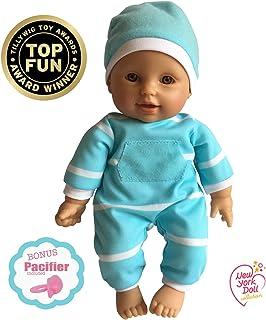 "11 inch Soft Body Doll in Gift Box – Award Winner & Toy 11"" Baby Doll (Hispanic)"