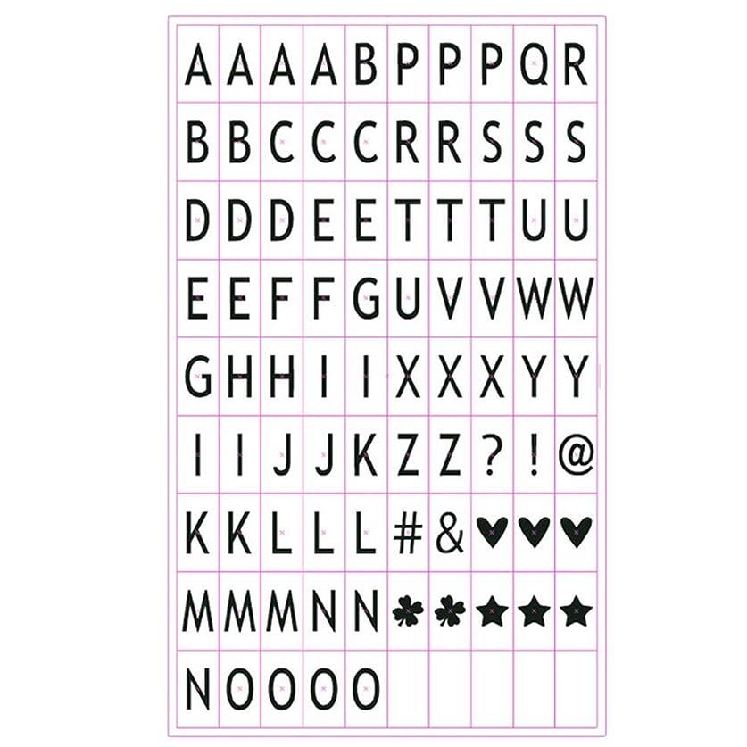 解釈する習熟度伝導率ゴシレ [Gosear] 85個の映画色の文字記号グリフカード A4 ライトボックスの DIY シネマサイン―(B)