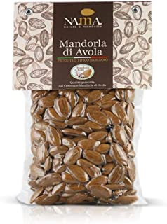 NAMA, Mandorle Avola Sicilia, Made in Italy - Mandorle Sgusciate Calibrate 1a Scelta, Ideale per Snack, Farina, Creme, Dol...