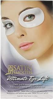 Ultimate EYE Lift Collagen Mask Milk 'N Honey (3 Pair Pack)