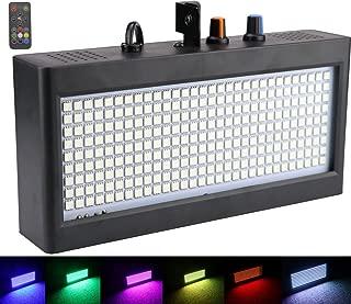 270 LED luces de Estroboscopio, Latta Alvor Luz de escenario para Discoteca Party Luz DJ Luces Auto & Control de Sonido RGB (RGB)