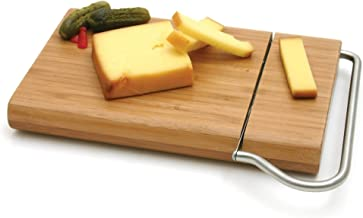 Swissmar Bamboo Board w/Cheese Slicer Blade