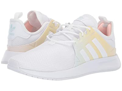 adidas Originals Kids X_PLR (Big Kid) (White/Yellow) Girls Shoes