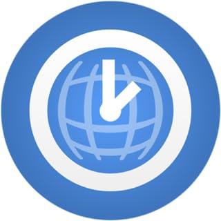 World Time Clock Gold