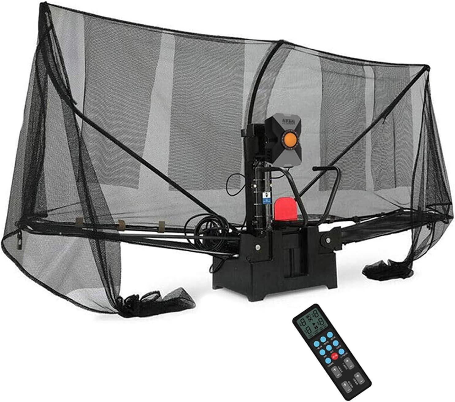 Stoge Robot De Tenis De Mesa Portátil con Red, Máquina Automática De Pelotas De Ping-Pong Máquina De Tenis De Mesa para Entrenamiento, Pelotas De Tenis De Mesa De 40mm O 40mm+.