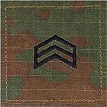 Army SGT ROTC Cadet Rank OCP Scorpion with HOOK Fastener-SERGEANT