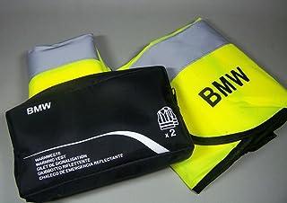 Original BMW Chalecos de seguridad amarillo neón en Twin pack