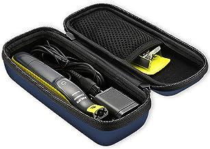 ProCase EVA Hard Case for Philips Norelco OneBlade Trimmer Shaver Case, Travel Storage Organizer Carrying Bag for Philips Norelco OneBlade, QP2520/90 QP2520/70 QP2630/70 -Navy