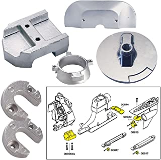 Merc Mercury Alpha 1 Gen II (Alpha I Gen 2) I/O Sterndrive Aluminum Anode Kit with Hardware