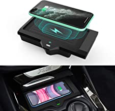 CarQiWireless Wireless Phone Charger for BMW X3 2018 2019 2020 BMW X4 2019 2020 Center Console Wireless Charging Pad Mat f...