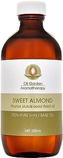 Oil Garden Aromatherapy Sweet Almond Oil 200 ml, 200 milliliters