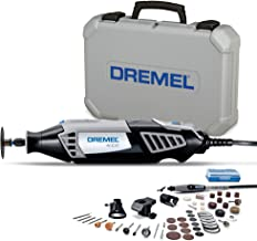 Dremel 4000 Rotary Tool 175W Multi Tool Kit (4 Attachments, 50 Accessories, Variable Speed 5,00035,000 RPM for Cutting, Ca...