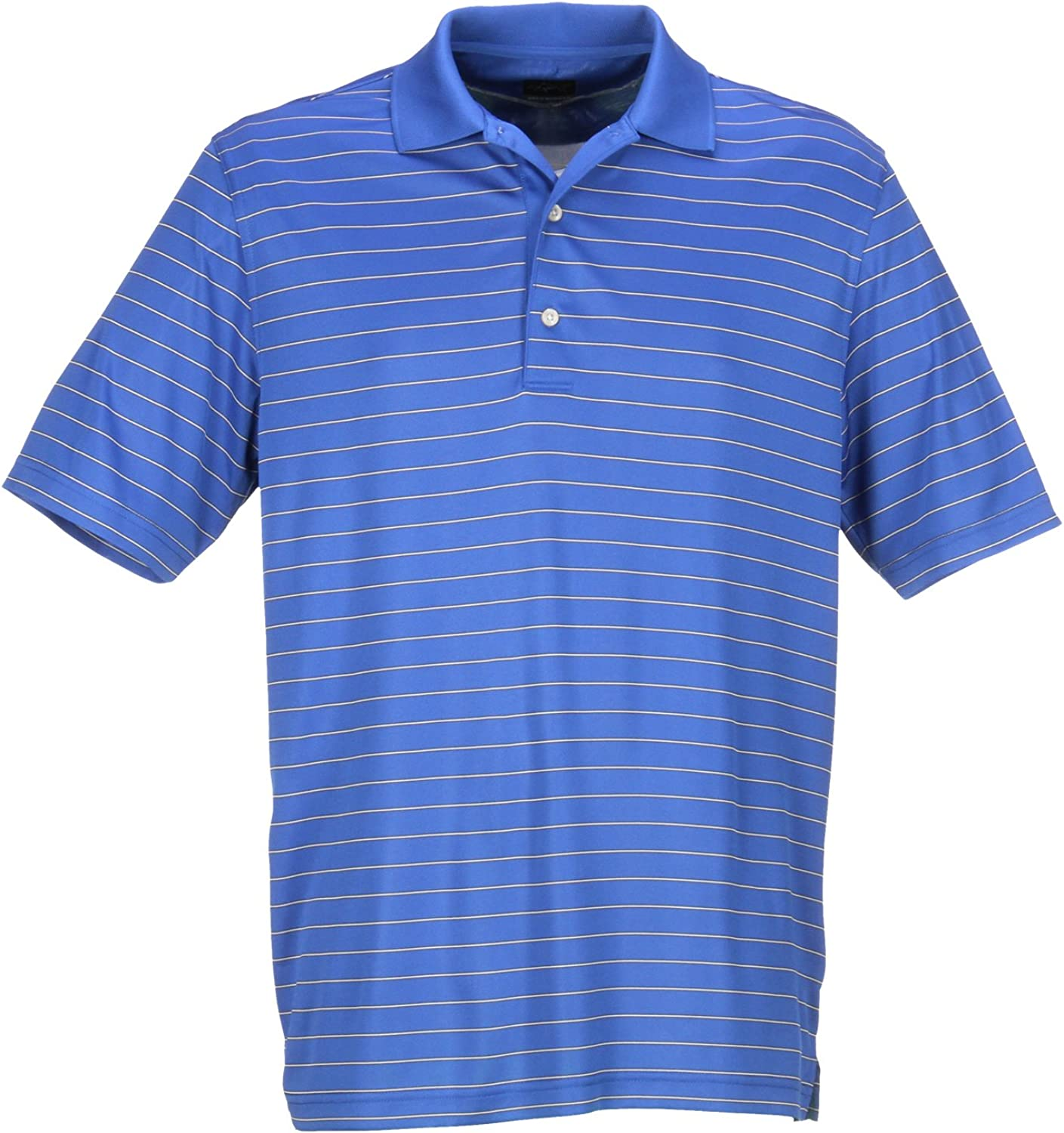 Greg Norman Collection Max 66% OFF Men's Protek Micro Polo 55% OFF Shirt Lux Stripe