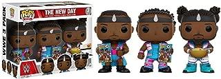 Funko POP! Big E Xaviers Woods Kofi Kingston WWE Exclusive New Day 3 Pack
