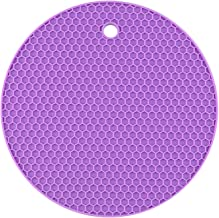 Heat-Resistant Silicone mats Beverage Coasters Non-Slip Pot mats Table mats Kitchen Accessories Drying matsdurable and Eas...