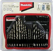 Makita P90196 Drill Bit And Screw Driver Bit Set Of 26 Pieces