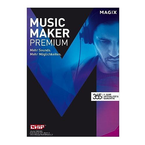 Music Maker – 2017 Premium Edition – Musikprogramm: Eigene Musik aufnehmen, bearbeiten, remixen. [Download]