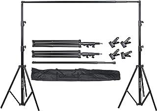 COOPIC S06 2.8 × 3.2 متر نظام دعم للتصوير الفوتوغرافي مع 4 قطع خلفية كليب خلفية