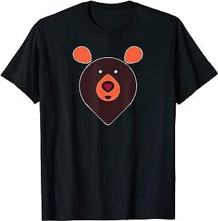 Mens Heart Nose Bear Number 1 - LGBT Gay Pride  T-Shirt