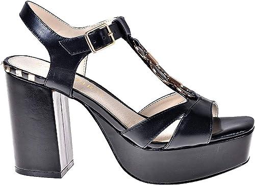 Cafenoir MF125 Sandales Sandales à Talons Hauts Femmes Noir 37  boutique en ligne