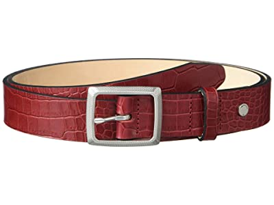rag & bone Boyfriend Belt (Rouge Croco) Women
