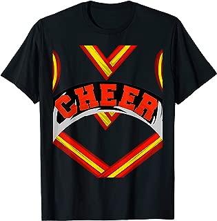 Cool Cheerleader Halloween Costume Fan | Funny Lazy DIY Gift T-Shirt