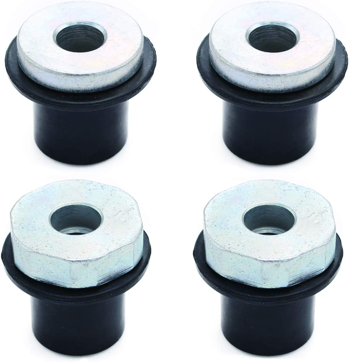 FUSCH 4x Steering Rack and Pinion Max 43% OFF Bushing Compatible Mount with New York Mall