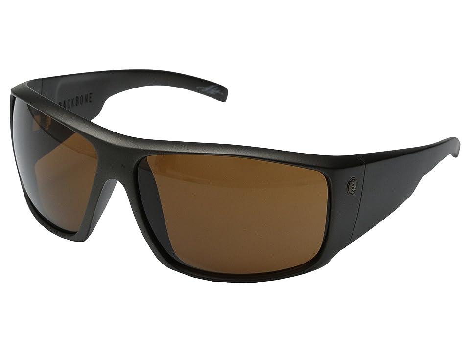Electric Eyewear Backbone (Casing Grey/M Bronze) Sport Sunglasses