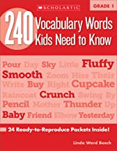 240 Vocabulary Words Kids Need to Know: Grade 1: 24 Ready-to-Reproduce Packets Inside!