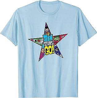 DC Comics Teen Titans Go Star Logo Camiseta