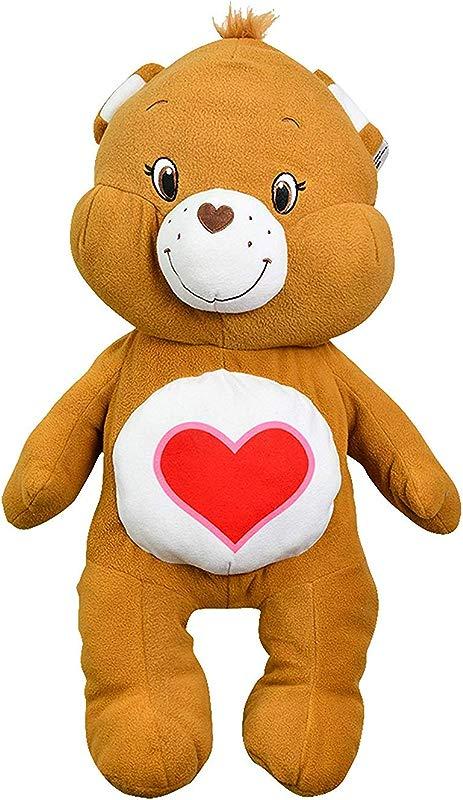 Care Bears Tenderheart Bear Large 24 Pillow Soft Fluffy Plush Stuffed Animal Stuffies Plushy