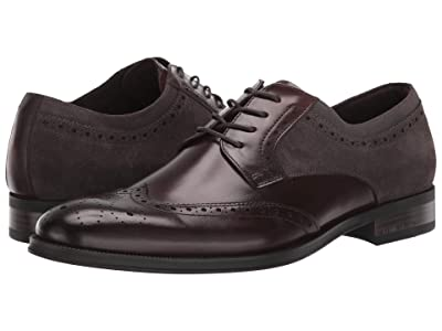 Kenneth Cole New York Brock Lace-Up WT (Brown/Grey) Men