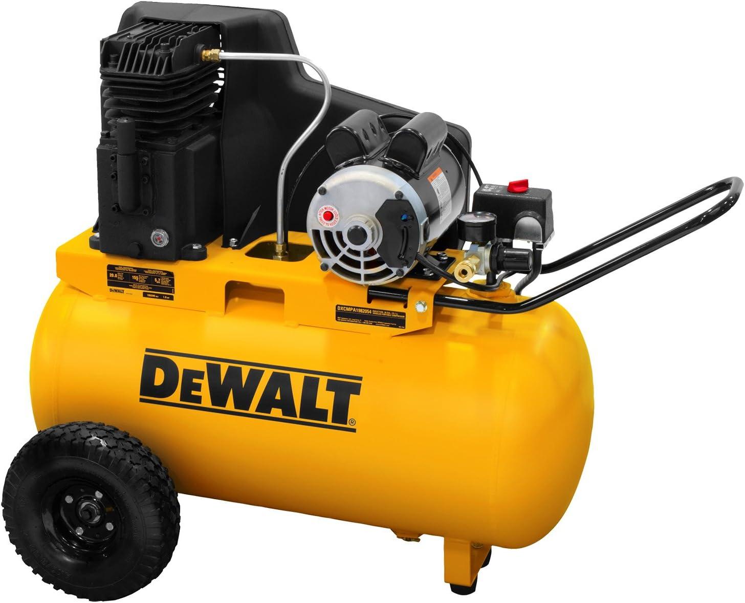 DEWALT DXCMPA1982054 Air Compressor: Quietest Pick for 20-Gallon