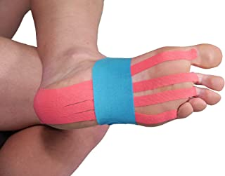 Pre-Cut Foot Support Kinesiology -, Color Multicolor, Talla única