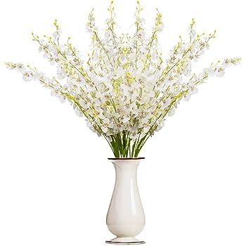 flower arrangement home decor allium rustic arrangement.htm amazon com opps artificial lavender flowers bouquet with special  artificial lavender flowers bouquet