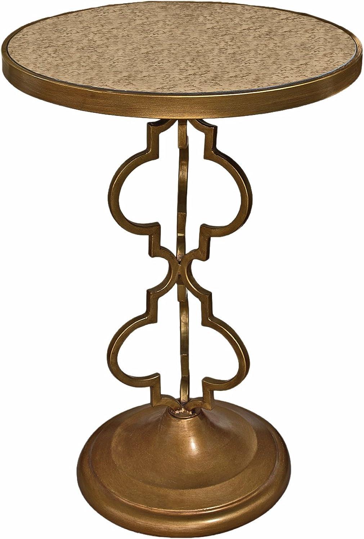 Design Toscano Film black Art Deco Mirrored Accent Table