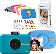 Polaroid Snap Touch Instant Digital Camera (Blue) Protective Kit with 20 Sheets Zink Paper
