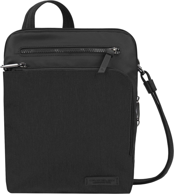 Travelon: Anti-Theft Metro Small Crossbody Bag - Black