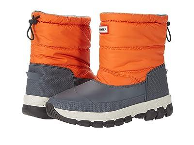 Hunter Original Insulated Snow Boot Short (Corten Orange) Women