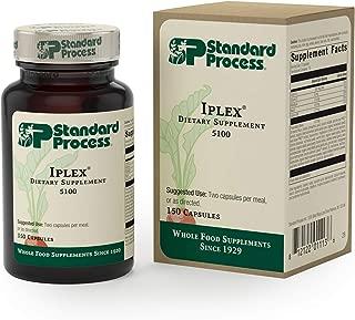 Standard Process - Iplex - Ocular Health Supplement, Source of Antioxidant Vitamin C, Vitamin A, Riboflavin, Niacin, Vitamin B6, Supports Eye Health - 150 Capsules