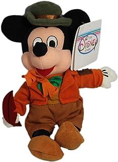 "Disney Bean Bag Plush Mickey Mouse As Bob Cratchit 8"""