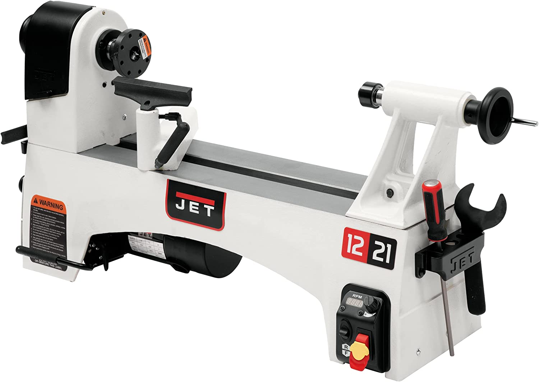ET JWL-1221VS Variable-Speed Woodworking Lathe