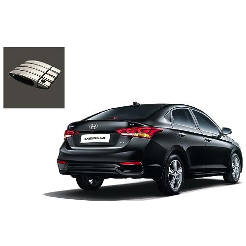 Kozdiko Chrome Door Latch Cover Hyundai Verna (Set of 4)